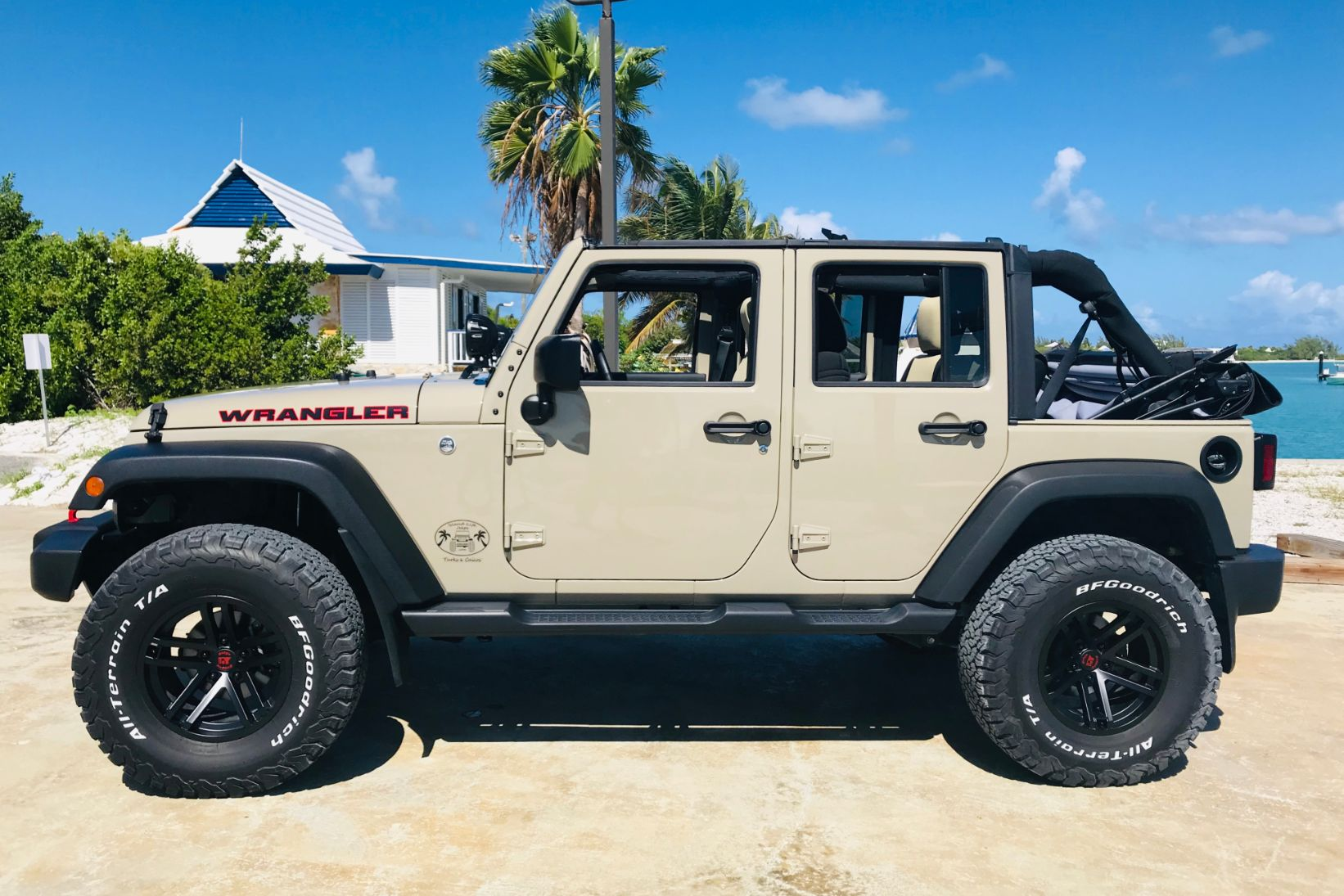 Gobi 4-Door Jeep Wrangler Unlimited